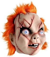 of chucky costume seed of chucky costume mask clothing