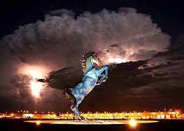 the with the blue mustang the blue mustang is part of several conspiracy theories centered