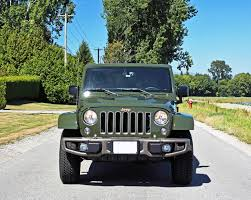 matte olive jeep wrangler 2016 jeep wrangler unlimited 75th anniversary edition road test