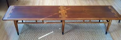 mid century modern surfboard coffee table lane acclaim coffee table bench at epoch