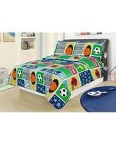 bargains on full 3 piece bedding comforter set sports football