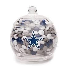 nfl glass candy bowl dallas cowboys dallas cowboys nfl team
