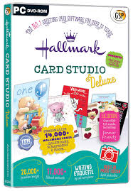 hallmark card studio deluxe pc amazon co uk software