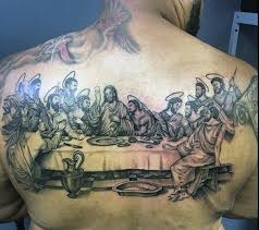 40 last supper tattoo designs for men christian ink ideas