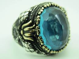 mens rings stones images 925 sterling silver aquamarine stone men ring stamboul jewelry png