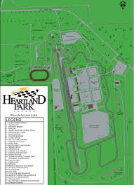 Map Topeka Ks Heartland Park Info
