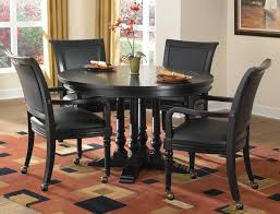 black round dining table set the effectiveness of the black dining table home decor