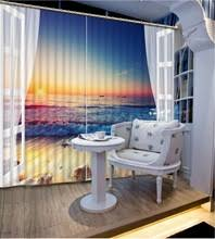 Hotel Drapes Compare Prices On Beach Window Curtains Online Shopping Buy Low