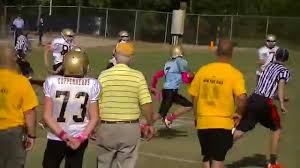 Flag Football Raleigh Nc 10 24 2015 Steelers Vs Panthers Carolina Copperheads Youth