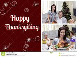 thanksgiving messages for family happy family and thanksgiving message stock photo image 80547365