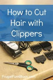 haircut with 12 clippers how to do a boy s haircut with clippers