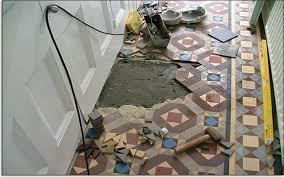 mosaic floor tile restoration sealing and tile