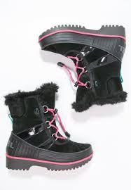 black moto boots sorel joan of arctic wedge black size 6 sorel kids boots tivoli