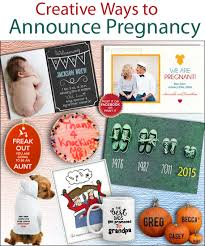 creative and pregnancy announcement ideas