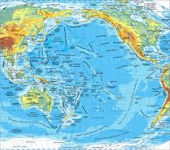 Map Of Pacific Ocean Map Of Pacific Ocean Maps Of Pacific Ocean U2014 Planetolog Com