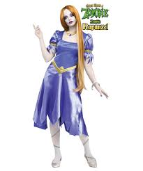 once upon a zombie rapunzel womens costume women costume
