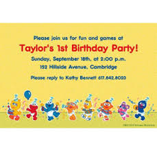 custom sesame street 1st birthday invitations u0026 thank you notes
