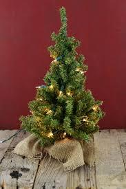 tree tabletop pre lit tree lit artificial