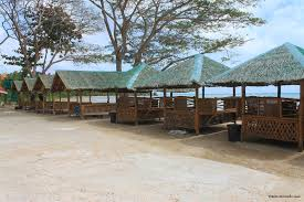 cottages by the bohol sea on the beach for rent seaside beach