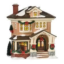 christmas houses department 56 snow christmas at s lit