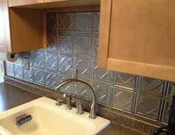 kitchen metal backsplash the easiest and cheapest backsplashes you can install