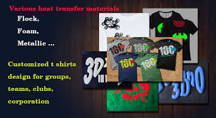 for individual fashion and personalized team logos or images