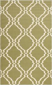 rugsville contemporary trellis wool t green rug 5 u0027 x 8