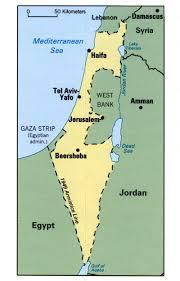 Map Israel Israel