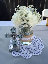 first holy communion table centerpieces holy communion party decorations