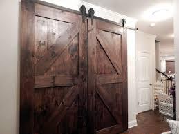 interior sliding barn door idea