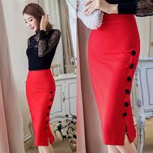 Black Pencil Skirt Slit Online Black Pencil Skirt Slit For Sale