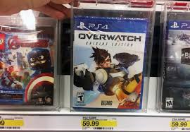 black friday ps4 target 2016 40 off overwatch ps4 video game at target the krazy coupon lady