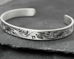 silver leaf bracelet images Silver leaf bracelet etsy jpg