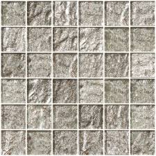glass tile 2x2 inch crushed crystal metallic glass tile