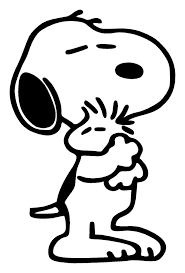 astounding snoopy coloring pages awesome charlie brown