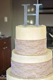 burlap and lace wedding cake the bewitchin u0027 kitchen