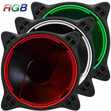 120mm rgb case fan 3 pcs jonsbo fr 331 120mm pc case fan cpu cooler radiators colorful