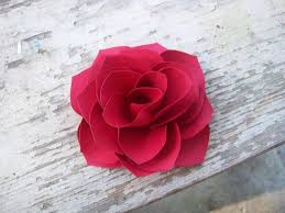 Paper Roses Valentine U0027s Day Crafts Ideas From Craftsy