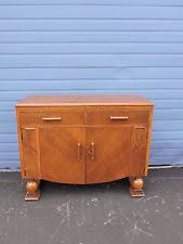 oak art deco antique sideboards u0026 buffets 1900 1950 ebay