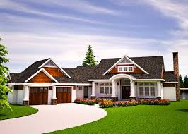 one level vacation home plan 18262be architectural designs