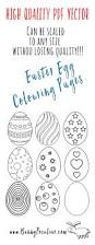 easter egg coloring pages free and scalable to any size bunny