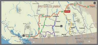 Trans Canada Highway Map by Getting To Revelstoke Bc Tourism Revelstoke