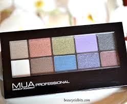 Makeup Mua makeup academy metallic eyeshadow palette