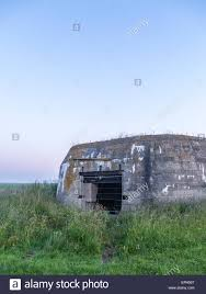 concrete block house german ww2 concrete blockhouse gun emplacement casemate