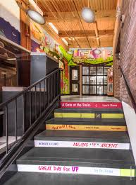 Stairs Book by A Shared Office Space For Bookworms It U0027s Not A Library