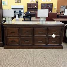 used large buffet table walnut con1433 019 office furniture dallas