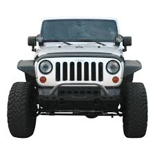 jeep bumpers aries automotive jeep front modular bumper kit