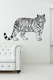 zebra and animal print wall decal stickers