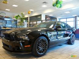 Black 2013 Mustang 2013 Black Ford Mustang Shelby Gt500 Svt Performance Package Coupe