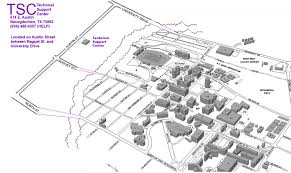 University Of Montana Campus Map by Mysfa Information Technology Services Sfasu